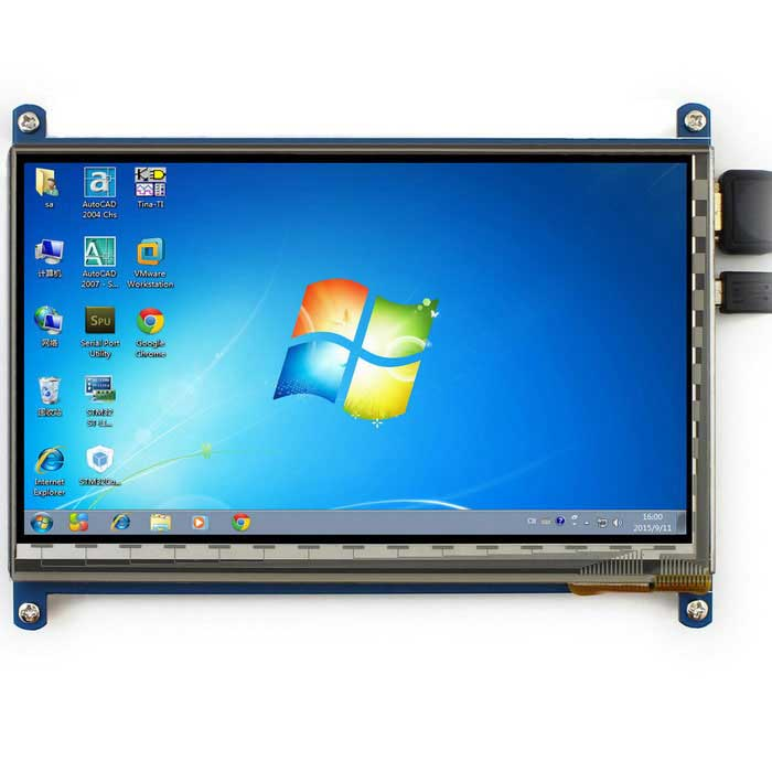 Waveshare-Raspberry-Pi-1024*600-7inch-HDMI-Capacitive-Screen