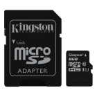 Kingston SDC10G2 digitales / 8 GB leer la tarjeta SD con adaptador