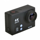 "UHD 2"" LCD 12MP 1080P / 60fps Wi-Fi Waterproof Action Camera - Black"