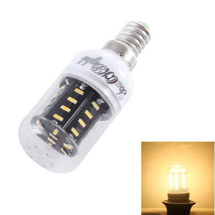 YouOKLight E14 5W 36-SMD 3000K 400lm Warm White LED Corn Bulb Lamp