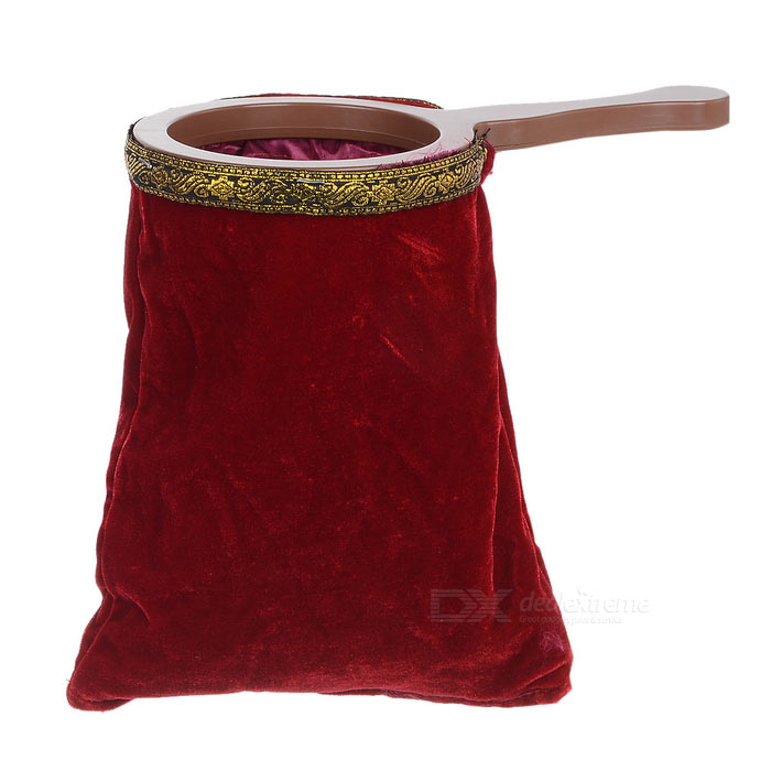 Change Bag Must Have Magic Prop for Magicians - Wine Red