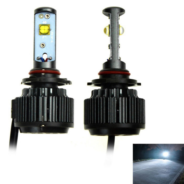 H7 V16 30W LED White Light Car Headlamp / Foglight w/ Decoder (2PCS)