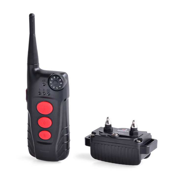 Buy Aetertek Dog Shock Collar 600 Yard Auto Anti-Bark Training Aid - Black with Litecoins with Free Shipping on Gipsybee.com