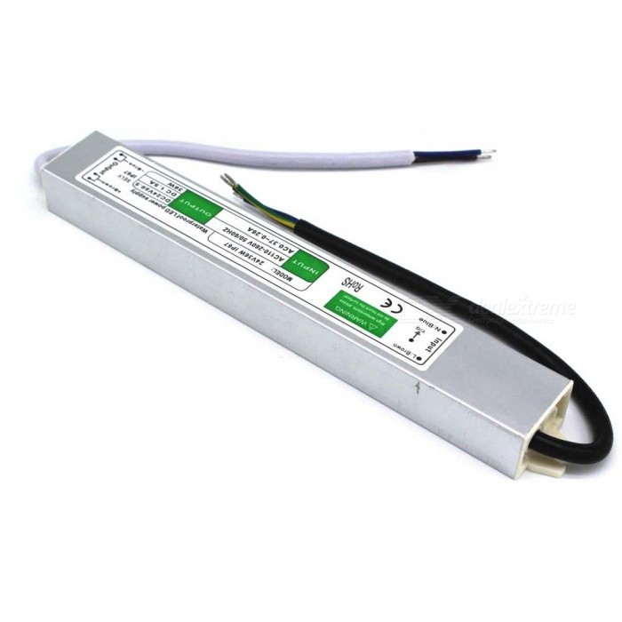 FS-12V-36W Waterproof External LED Power Supply - Silver (110~260V)LED Power Drivers<br>MaterialAluminum alloyForm  ColorSilverQuantity1 DX.PCM.Model.AttributeModel.UnitWater-proofIP67Input Voltage50~60Hz, 110~260 DX.PCM.Model.AttributeModel.UnitOutput Voltage12 DX.PCM.Model.AttributeModel.UnitOutput Current3 DX.PCM.Model.AttributeModel.UnitInput Current0.37~0.26 DX.PCM.Model.AttributeModel.UnitRated Working Voltage12 DX.PCM.Model.AttributeModel.UnitWorking Current0.37~0.26 DX.PCM.Model.AttributeModel.UnitCertificationCEPacking List1 x Power supply (18+18cm-cable)<br>