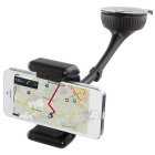 Bluetooth V3.0 + EDR Car Phone Holder Reproductor de MP3 Transmisor FM - Negro