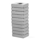 20*15*5mm NdFeB Magnet with & without Hole - Silver (10PCS)