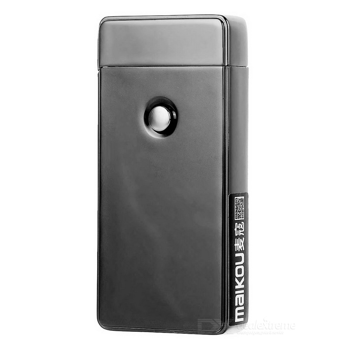 MAIKOU MK-001 USB Rechargeable Electronic Cigarette Lighter - Grey for sale in Bitcoin, Litecoin, Ethereum, Bitcoin Cash with the best price and Free Shipping on Gipsybee.com