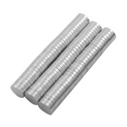 6 * 1.8mm Round NdFeB Magnet - Silver (100 PCS)
