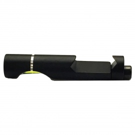 Bubble Level for Air Rifle Airsoft Scope w/ Standard 20mm Rail - Black