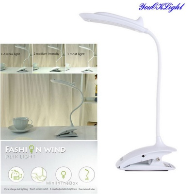 YouOKLight USB Rechargeable Touch Sensor LED Reading Light Table Lamp