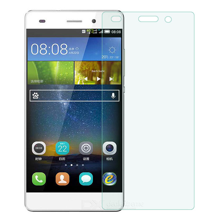 Buy 9H 0.25mm Arc Clear Tempered Glass Screen Protector for Huawei P8 Lite with Bitcoin with Free Shipping on Gipsybee.com