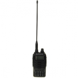 Dual-Frequency-Display-Multi-Band-Walkie-Talkie-with-VOXFlashlightFM-Radio-(VHFUHF)
