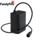 FandyFire 8.4V 5000mAh Waterproof Bike Light 6 x 18650 Batteries Pack
