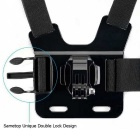Dual Stand Chest Shoulder Strap for Gopro Hero 4 3 3+, SJ4000, Xiaoyi