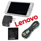"Lenovo A3800D android 4.4 4.5"" puhelin / 512 ram, 4GB ROM - white"