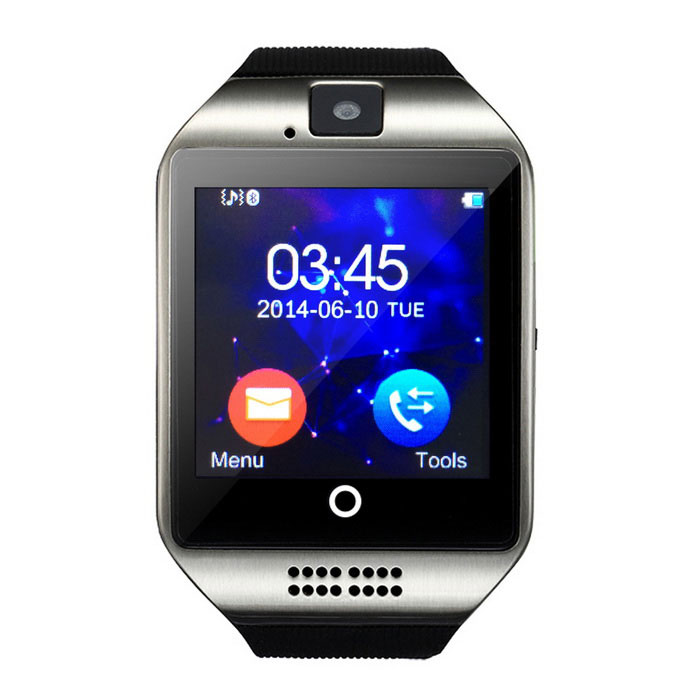 Q18 1.54quot TFT GSM Smart Watch w/ Remote Camera, Compass