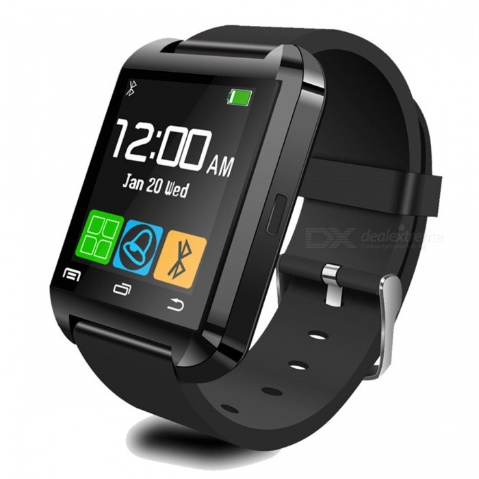 Bluetooth Smart Watch Für Android - Schwarz