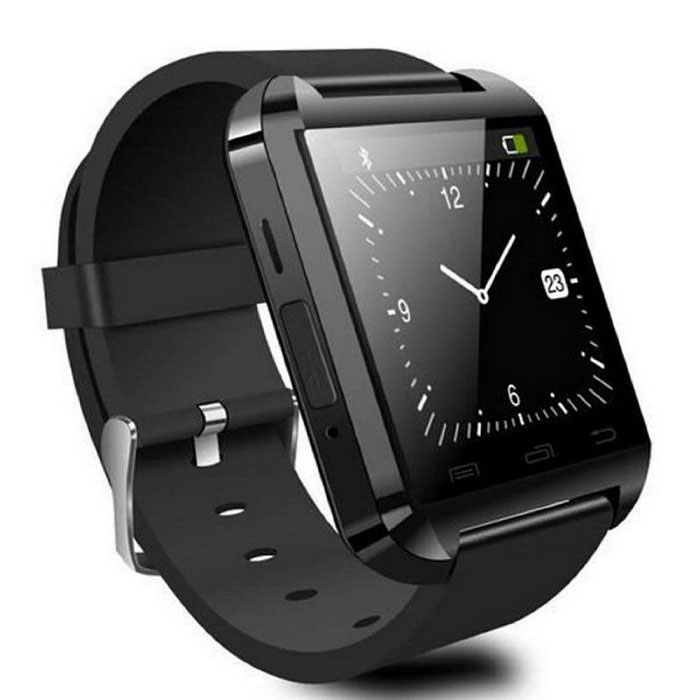 8289a2f21e5d Bluetooth Smart Watch for Android - Black - Free shipping - DealExtreme