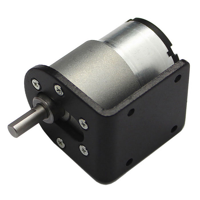 37GB-520 High Torque DC Gear Motor with Mounting Bracket (12V, 85RPM)DIY Parts &amp; Components<br>Quantity1 DX.PCM.Model.AttributeModel.UnitForm ColorBlackMaterialABS+ Cu + Fe + steelChipsetDC driveEnglish Manual / SpecNoCertificationNoPacking List1 x Gear motor1 x Mounting bracket<br>
