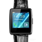 DW6 MTK2502 Bluetooth 4.0 orologio intelligente per Android Phone IOS - nero