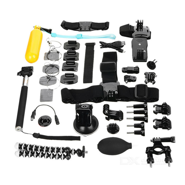 25-in-1-Monopod-Tripod-Camera-Mounting-Accessories-Kit-for-GoPro