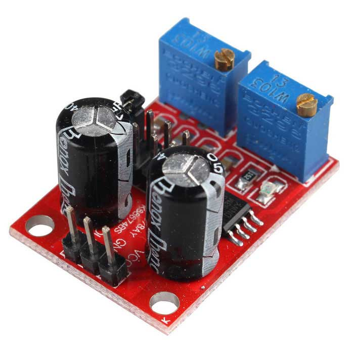 Buy NE555 Pulse Frequency Duty Cycle Adjustable Module with Litecoins with Free Shipping on Gipsybee.com