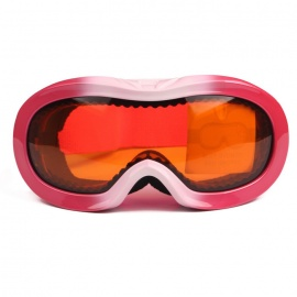 TPU-Frame-PC-Lens-UV400-Protection-Skiing-Goggles-for-Kid-Pink