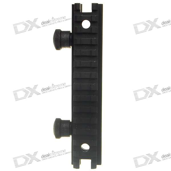 "5"" Heightened Aluminum Alloy Scope Mount Base for M4A1 - Black (144mm)"