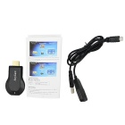 Anycast Wireless Display HDMI Miracast / DLNA / AirPlay / AirMirror Dongle - Black