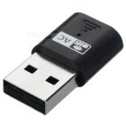600Mbps USB 2.0 Wireless Network Adapter - Black + Silver
