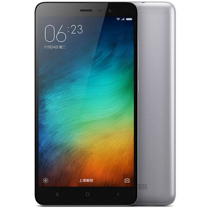 Xiaomi Redmi Note 3 Octa-Core 4G Phone 2GB RAM, 16GB ROM -GreyAndroid Phones<br>Form  ColorGreyRAM2GBROM16GBBrandXiaomiModelRedmi note 3Quantity1 DX.PCM.Model.AttributeModel.UnitMaterialABS plastic+IPSShade Of ColorGrayTypeBrand NewPower AdapterUS PlugsHousing Case MaterialMetalNetwork Type2G,3G,4GBand Details2GGSM B2/3/8 3GWCDMA B1/2/5/8 3GTD-SCDMA B34/39 4GTD-LTE B38/39/40/41 4GFDD-LTE B1/3/7Data TransferGPRS,LTENetwork ConversationOne-Party Conversation OnlyWLAN Wi-Fi 802.11 a,b,g,n,acSIM Card TypeMicro SIMSIM Card Quantity2Network StandbyDual Network StandbyGPSYesNFCNoInfrared PortYesBluetooth VersionOthers,v4.1Operating SystemOthers,MIUI 7CPU ProcessorMediatech  Helio X10(MT6795)CPU Core QuantityOcta-CoreLanguageSimplified Chinese, Traditional Chinese, German, Indonesian, Malay, English, Spanish, French, Italian, Hungarian, Dutch, Portuguese, Romanian, Vietnamese, Russian, Turkish, Greek, Hebrew, Arabic, Thai, KoreanGPUImagination PowerVR G6200Available MemoryN/AMax. Expansion SupportedDoes not support capacity expansionSize Range5.5 inches &amp; OverTouch Screen TypeCapacitive ScreenScreen Resolution1920*1080Screen Size ( inches)5.5Camera Pixel13.0MPFront Camera Pixels5.0 DX.PCM.Model.AttributeModel.UnitFlashYesTouch FocusYesTalk Time9-12 DX.PCM.Model.AttributeModel.UnitStandby Time264 DX.PCM.Model.AttributeModel.UnitBattery Capacity4000 DX.PCM.Model.AttributeModel.UnitBattery ModeNon-removablefeaturesWi-Fi,GPS,BluetoothSensorG-sensor,Proximity,CompassWaterproof LevelIPX0 (Not Protected)Shock-proofNoI/O InterfaceMicro USB,3.5mmUSBMicro USB v2.0SoftwareCalculator, memo, calendar, notepad, radio, alarm clock, calendar, tape recorder, scene model, topic schemaFormat SupportedMP3/WAV/OGG/MID/AMR/MP4/3GP/M4A/RM/RMVB/WMV/JPEG/PNG/GIF/BMP/JAVAYesTV TunerNoWireless ChargingNoPacking List1 x Cellphone1 x Data cable  (90cm)1 x US plug power adapter (100~240V)<br>