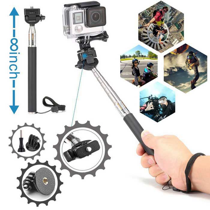 ... 42-in-1 Camera Accessories Kit for GoPro Hero, SJ4000, SJ5000, ...