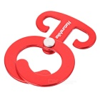 NatureHike T-Shape Folding Tent Cord Rope Buckle Hanger - Red (4PCS)