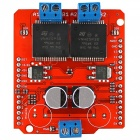 30A High Current Dual Motor Module Full-bridge Driver for Arduino