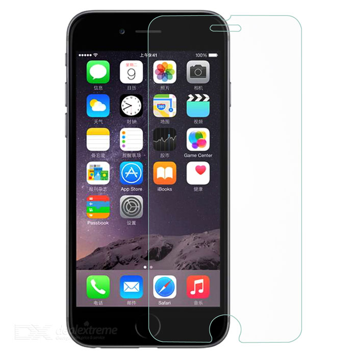 Dx coupon: 0.25mm Tempered Glass Film for IPHONE 6S PLUS - Transparent (2PCS)