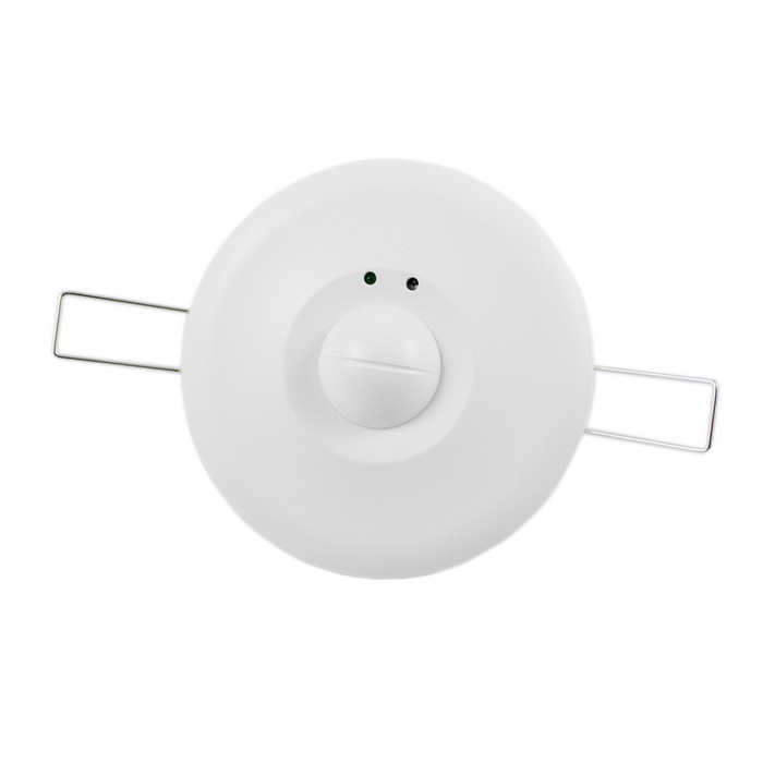 TR-86 1200W 360° Microwave Sensor Switch Lamps Auto-sensing SwitchSwitches &amp; Adapters<br>Form  ColorWhiteModelTR-86Quantity1 DX.PCM.Model.AttributeModel.UnitMaterialPVCPower RangeAC 220~240VMax. Current36AWorking Temperature-20~+45 DX.PCM.Model.AttributeModel.UnitOther FeaturesPower frequency: 50/60Hz <br>Installation sit Indoors, ceiling mounting<br>Transmission power: Packing List1 x Microwave Sensor Switch<br>