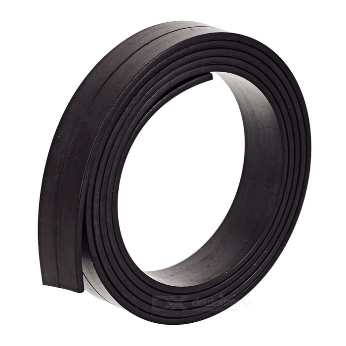 1000*15*2mm Flexible Magnetic Strip Tape Magnet for Office - BlackMagnets Gadgets<br>Form  ColorDeep Coffee - 1mMaterialRubber + magnetic powderQuantity1 DX.PCM.Model.AttributeModel.UnitNumber1Suitable Age 5-7 years,8-11 years,12-15 years,Grown upsPacking List1 x Single sided magnetic tape<br>