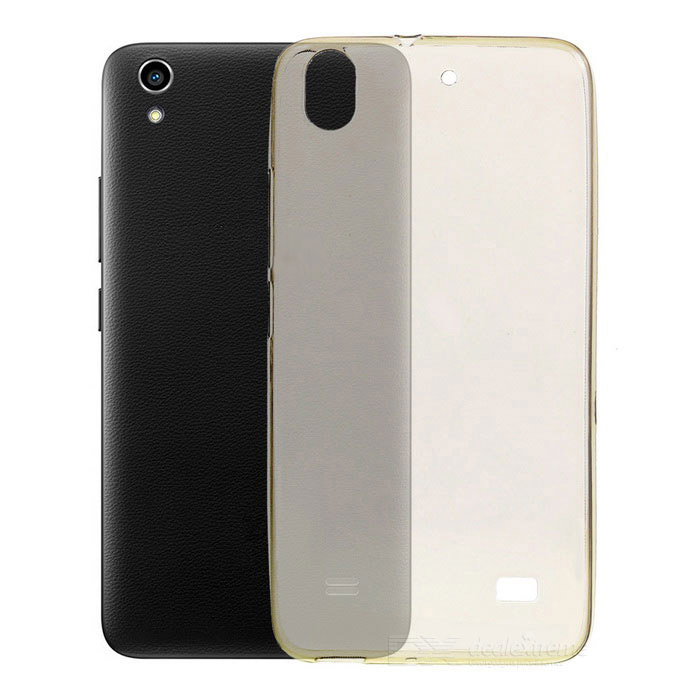S-What Protective Back Cover for Huawei Honor 4 - Translucent Black