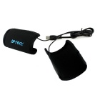 Motorcycle USB Heated Grips Handlebar Warmer Sleeves - Black (Pair)