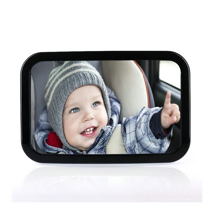 IZTOSS AP1001 Car Baby Safety Seat Baby Rearview Mirror - Black