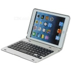 BK-216 bluetooth V3.0 59-Key tablett tastatur for iPad Mini - sølv
