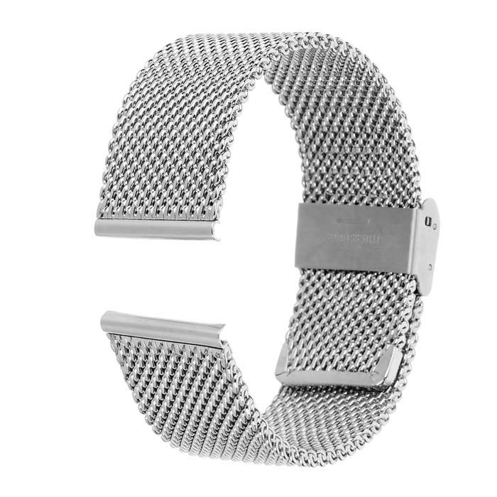 Stainless Steel Watch Band for Motorola MOTO 360 2 46mm -SilverWearable Device Accessories<br>Form  ColorSilverQuantity1 DX.PCM.Model.AttributeModel.UnitMaterialStainless steelPacking List1 x Watchband2 x Pins<br>