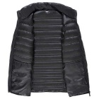 Men's Ultra Light Thin Down Jacket Coats - Black (M)
