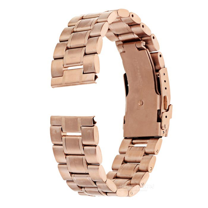 Watch Band Watchband for Motorola MOTO 360 2 46mm - Rose GoldWearable Device Accessories<br>Form  ColorRose GoldQuantity1 DX.PCM.Model.AttributeModel.UnitMaterialStainless steelPacking List1 x Watchband2 x Pins<br>