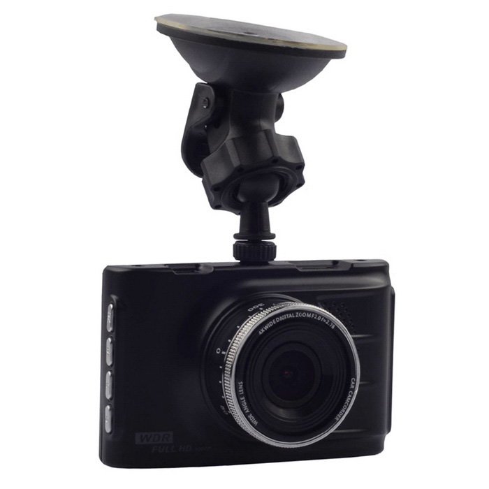 FH03 1080P 3 LTPS 170 CMOS Car DVR Recorder Parking Guard - BlackCar DVRs<br>Form  ColorBlack + SilverModelFH03Quantity1 DX.PCM.Model.AttributeModel.UnitMaterialAluminum AlloyChipsetNovatekScreen Size3-3.9Other FeaturesMotion Detection,Anti-Shake,IR Night Vision,Microphone,Loop Record,Others,G-sensorScreen Resolution:1920 x 1080,Others,1280 x 720 P DX.PCM.Model.AttributeModel.UnitCamera Pixel11-12.9MP DX.PCM.Model.AttributeModel.UnitWide Angle170°-189°Camera Lens1Image SensorCMOSImage Sensor Size1/2.7 inchesCamera PixelOthers,12.0 MPExternal Camera PixelNoWide AngleOthers,170°Optical Zoom4XScreen TypeOthers,LTPSScreen Size3.0 inchesISO100Exposure CompensationOthers,+0.0, -1/3, -2/3, -10, -4/3, -5/3, -2.0, +2.0, +5/3, +4/3, +10+2/3, +1/3White Balance ModeAutoVideo FormatAVIDecode FormatH.263,MPEG-4,Others,AACVideo OutputPAL,NTSCVideo Resolution720P(1280 x 720),1080FHD(1920 x 1080),VGA(640 x 480),WVGA(848 x 480)Video Frame Rate30ImagesJPEGStill Image Resolution12M 4032x3024Audio SystemStereoMicrophoneYesAuto-Power OnYesLED Qty4G-sensorYesTime StampYes (ON Or OFF)Built-in Memory / RAMNoMax. Capacity32GBStorage ExpansionTFAV InterfaceMini HDMIData interfaceMini USBWorking Voltage   12-24 DX.PCM.Model.AttributeModel.UnitBattery Capacity300 DX.PCM.Model.AttributeModel.UnitWorking Time0.3 DX.PCM.Model.AttributeModel.UnitMenu LanguageEnglish,French,German,Italian,Spanish,Russian,Japanese,Korean,Chinese Simplified,Chinese TraditionalPacking List1 x Car DVR1 x Mounting Holder1 x USB Cable (66cm)1 x Car Chargers (12-24V / 5 V- 700mA, 340cm)1 x Chinese / English user manual<br>