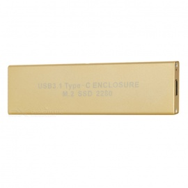 USB-31-Type-C-to-M2-SSD-HDD-Enclosure-Light-Golden-(22*80cm)