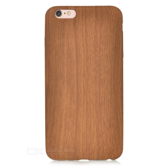 S-What Wood Grain Pattern Back Case for IPHONE 6 PLUS - Burlywood