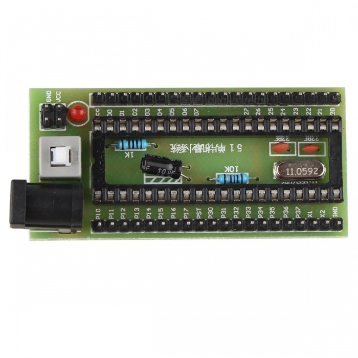 51 MCU Minimum System TC89C52 AT89S52 Development Learning Board