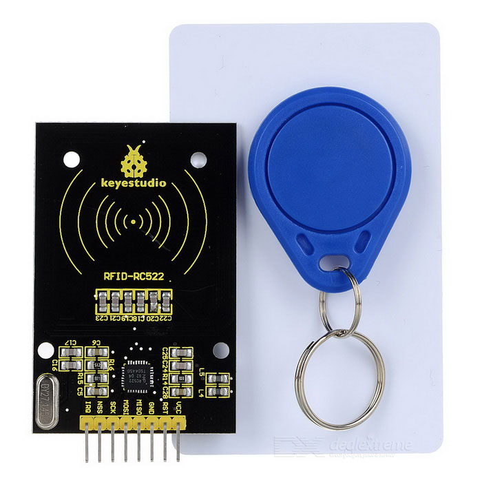 Keyestudio RC522 RFID Module for Arduino - Black