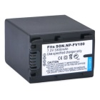 NP-FV100 Battery for Sony DCR-DVD103 DVD105E DVD508 - Black (3300mAh)